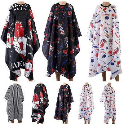 Pro Hair Cutting Cape Large Salon Hairdressing Hairdresser Gown Barber Cloth USA ()