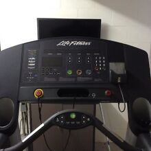 Lifefitness Treadmill - In great condition South Gladstone Gladstone City Preview