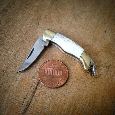 HOT SALE Mini Folding Pocket Knife Charm 1 1/2