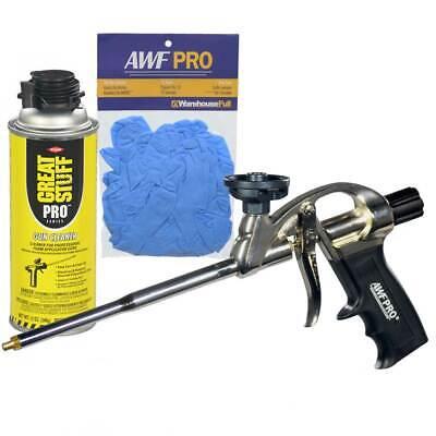 Awf Pro Professional Foam Gun Ptfe Coated Basket Gun Cleaner Nitrile Gloves