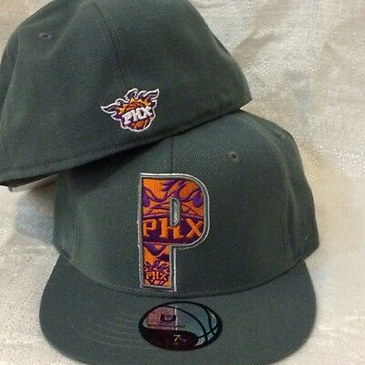 UNK Phoenix Suns Size 7- 3/8 Fitted Hat Free Shipping