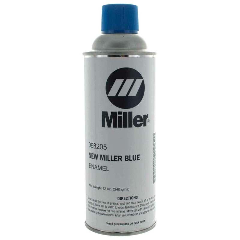 Miller 098205 Paint, Spray Can Enamel Blue Miller 12 Oz Can