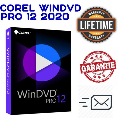 Corel WinDVD Pro 12 ✔ LifeTime License Key ✔ Fast Delivery