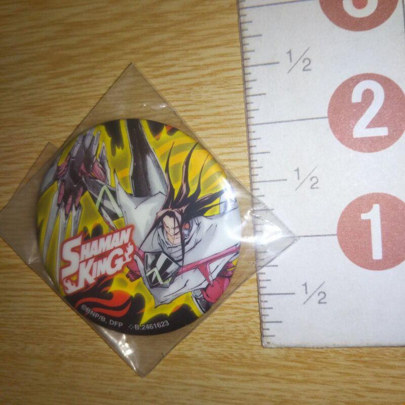 A70567 Shaman King Can badge Asakura Hao
