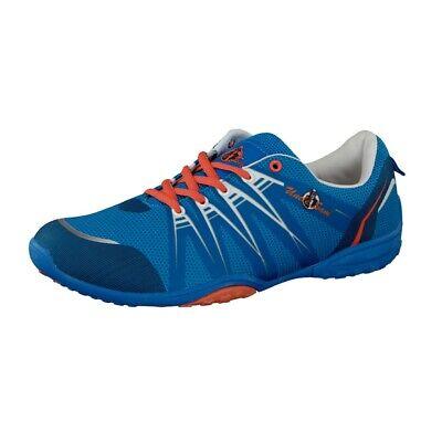 Uncle Sam Herren Barfußschuhe Sneaker Laufschuhe in Blau/Orange Orange Sneaker Schuhe