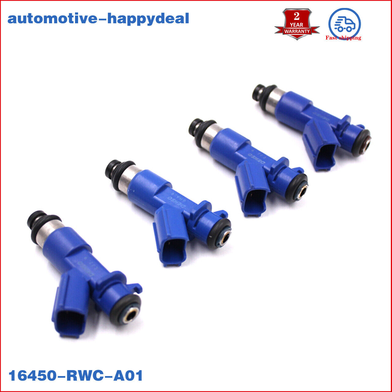 Air Intake & Fuel Delivery USA New OEM 4X Fuel INJECTORS
