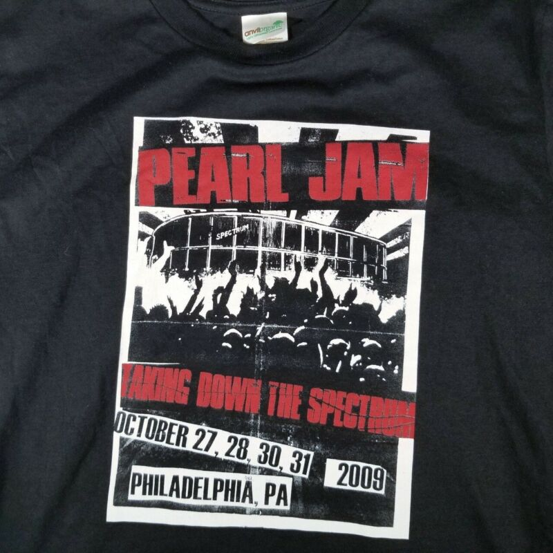2009 Pearl Jam Taking Down The Spectrum Concert Tee