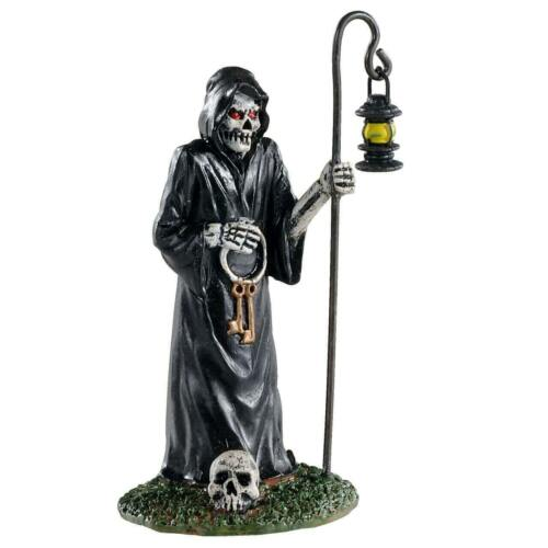Halloween Spooky Town KEYMASTER by Lemax Lock Master of the Underworld!