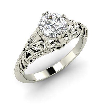 Half Carat Diamond Engagement Ring