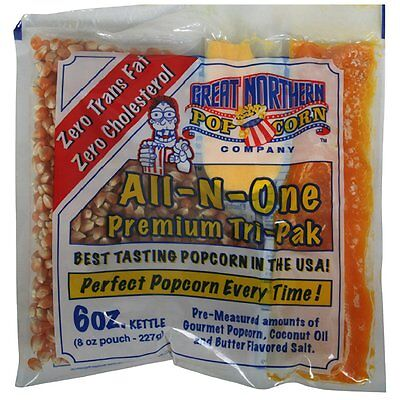 Great Northern School Friendly Popcorn 8 Ounce Popcorn Portion Packs Case Of 24