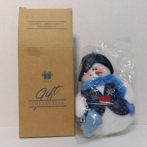 Avon 2001 Gift Collection Fabric Ornament - Snowman (Female)
