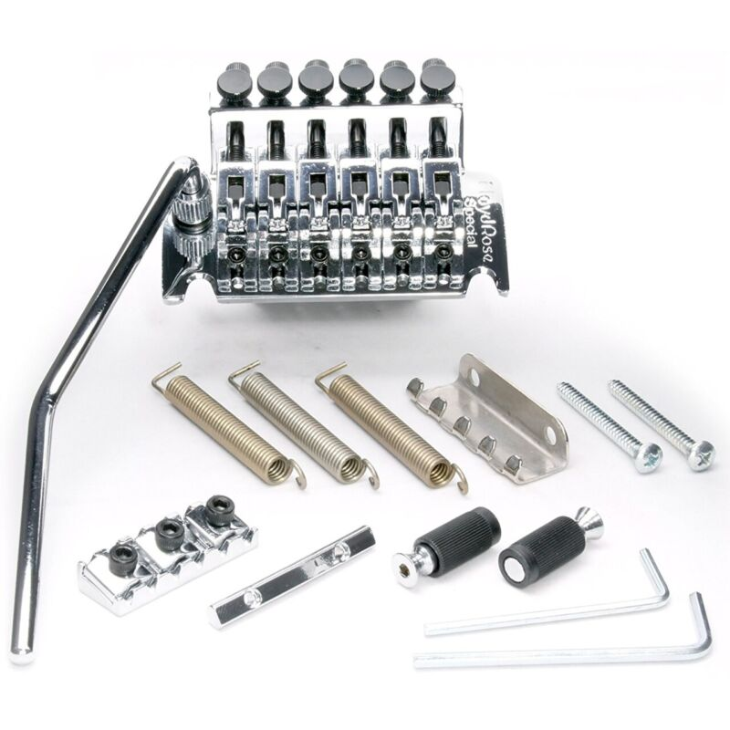 Floyd Rose FRTS1000R2 Special Series Tremolo Bridge System with R2 Nut, Chrome