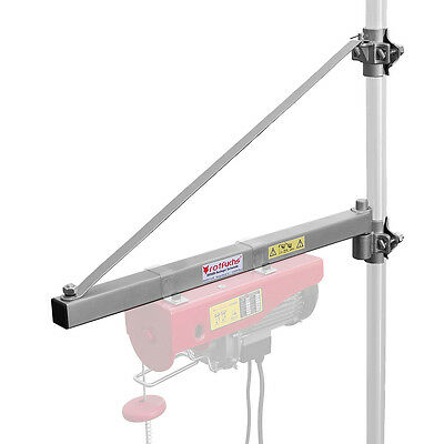 Schwenkarm für Seilwinde Seilzug Schwenkausleger Kranarm Halterung 600 kg