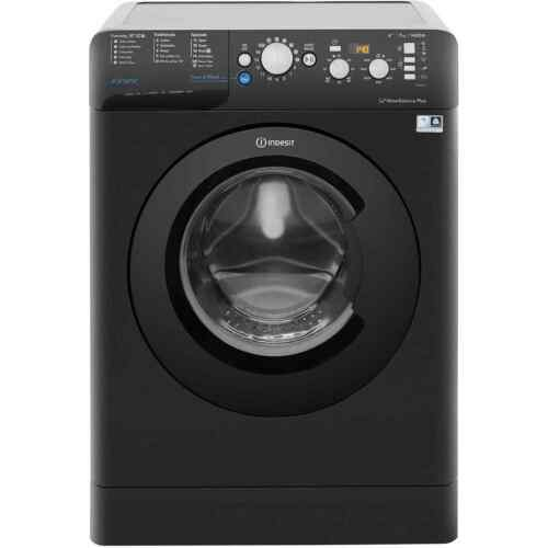 Indesit BWD71453KUK Innex A+++ Rated 7Kg 1400 RPM Washing Machine Black New
