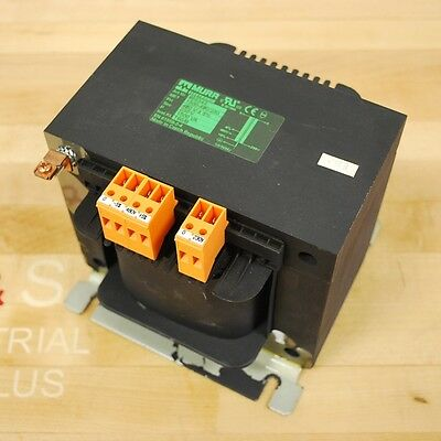 Murr 866343 Single Phase Transformer, 1500-480/230, Pri 480V, Sec 230V - USED