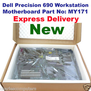 Dell Precision 690 Twin (2) Xeon Motherboard Dual & Quad Core compatible MY171