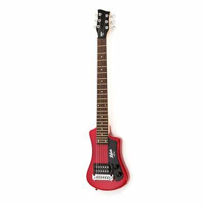 Höfner Hct Sh Shorty Eléctrica Guitarra Rojo Bolsa Incl.