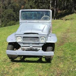 1973 Toyota FJ Cruiser Sedan Mount View Cessnock Area Preview