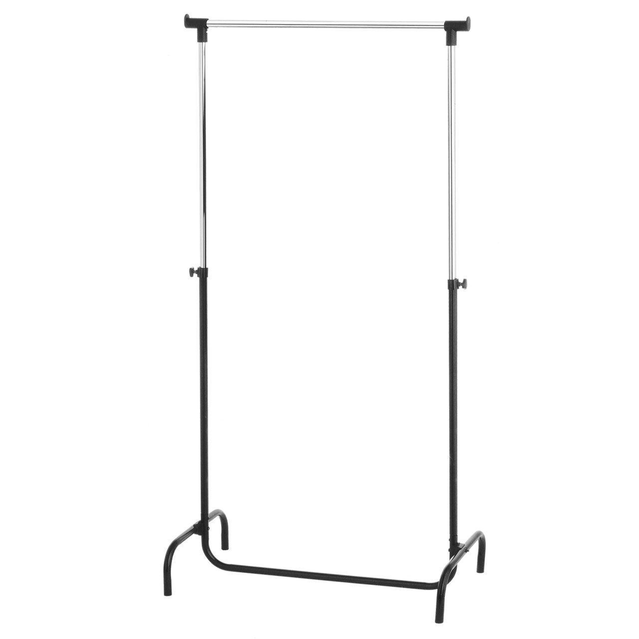 Clothes Rack, Rail & Holder with Adjustable Metal Frame Display ...
