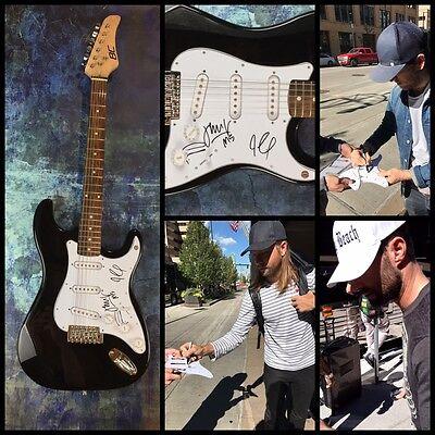 GFA Adam Levine Band * MAROON 5 * Signed Electric Guitar PROOF A COA