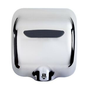 1800 WATTS, High Speed, Stainless Steel, Automatic Hand Dryer