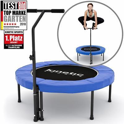 Fitness Trampolin Sport Jumper Minitrampolin Gummiseil Federung bis 120kg BLAU