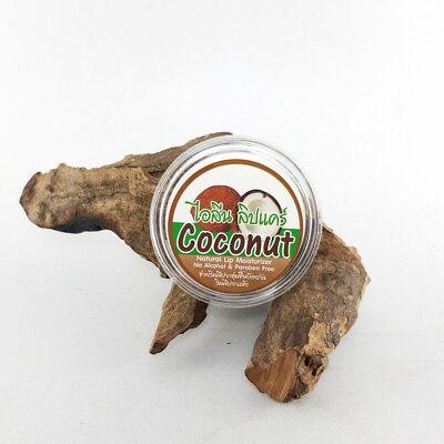 (Thai Coconut Lip Natural Lip Care Coconut Moisturzer Organic Oli 10 g)