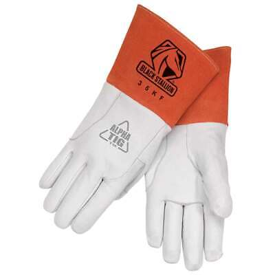 Black Stallion 35kf Alpha Tig Lined Kidskin Welding Gloves Large