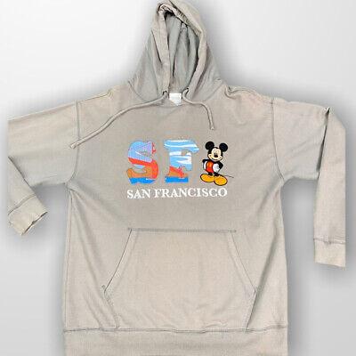 Vintage Disney San Francisco Mickey Hoodie