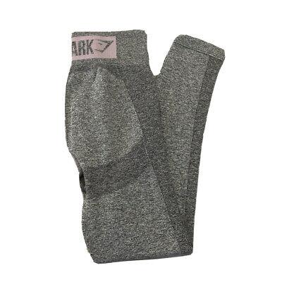 Gymshark Flex High Waisted Legging Gray/pastel , Size Medium