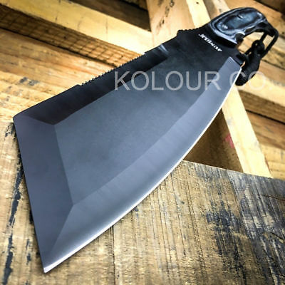"""16"""" SURVIVAL HUNTING Bowie Military FULL TANG MACHETE Fixed Blade Knife SWORD"""
