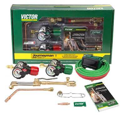 Victor 0384-2112 Journeyman Ii Af540510lp Edge 2.0 Propane Cutting Torch Outfit