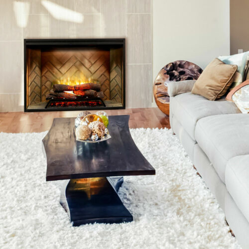 DIMPLEX RBF42 Revillusion Electric Fireplace Realistic Flames W/ Heat & Remote