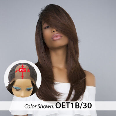 100% PREMIUM SYNTHETIC HAIR - 4X4 FREE PART LACE WIG - KIANA WIG - HERA REMY