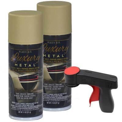 Plasti Dip Luxury Metal Spray Limegold Metallic 2 X 11oz Cans Cangun1 Trigger