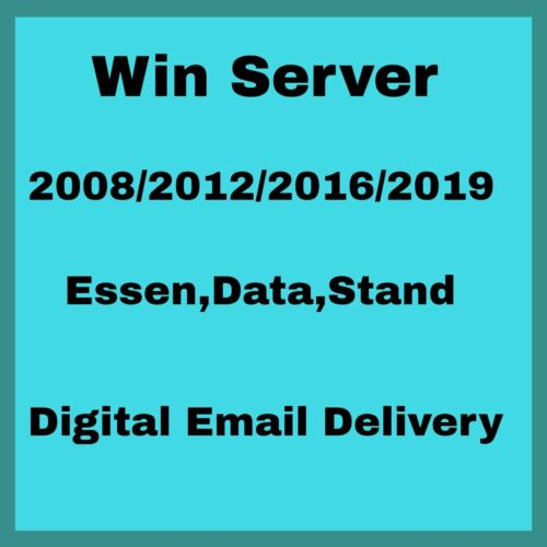 Server 2008/2012/2016/2019 Genuine Product