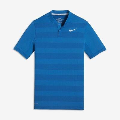Nike Zonal Cooling Big Kids' (Boys') Golf Polo. Small. Blue. 894070 Rory McIlroy