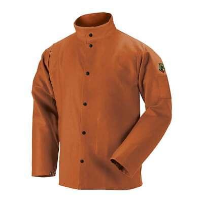 Black Stallion Fb2-30c Truguard 200 Fr Cotton Welding Jacket Brown Medium