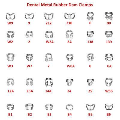 A Dental Metal Rubber Dam Clamp Brinker Tor Vm 2 Pcs.