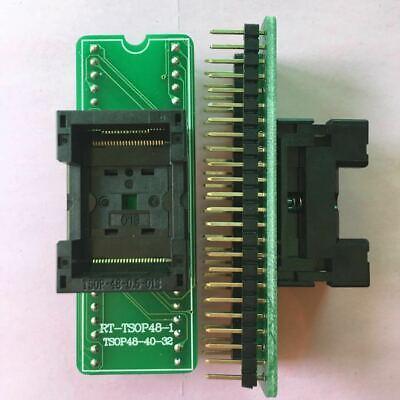 1pcs New Tsop48 To Dip48 Adapter Socket For Rt809f Rt809h Xeltek Usb Programmer