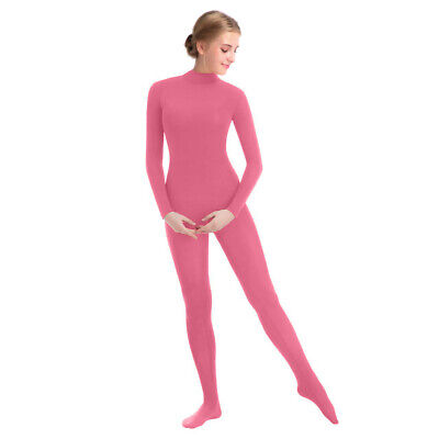 Bodysuit Costumes For Women (New Women Full Bodysuit Jumpsuit Lycra Spandex Zentai Unitard Costume Dark)
