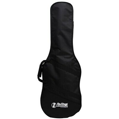 On-Stage GBE4550 Electric Guitar Gig Bag, Black