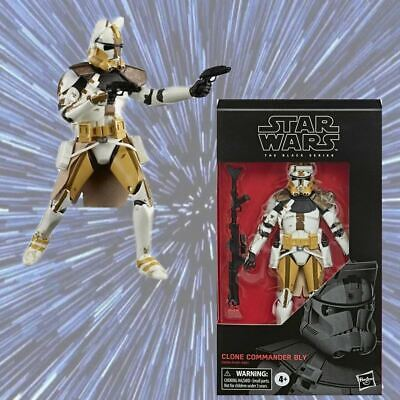 Commander Bly Black Series Star Wars The Clone Wars 6 Inch Action Figure *NIB