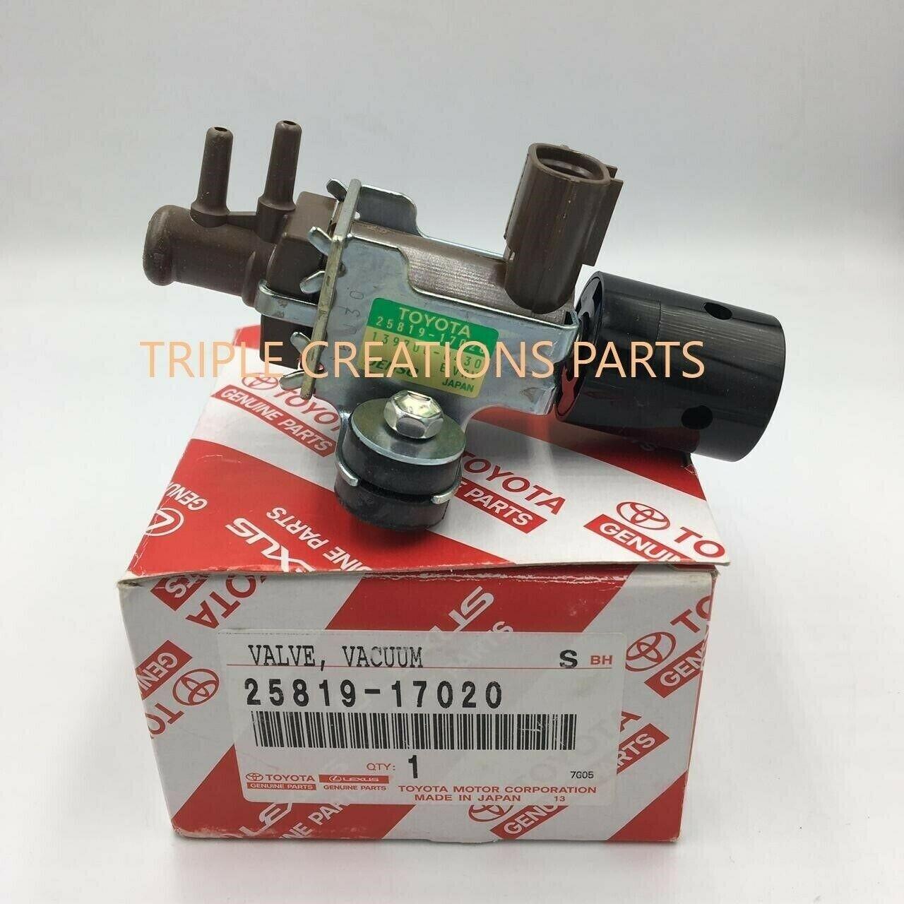 2581933010 Genuine Toyota VALVE ASSY VACUUM REGULATING 25819-33010