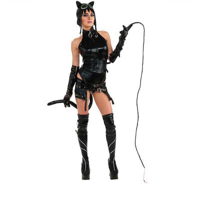 LICENSED ANIME CAT WOMAN SEXY DOMINATRIX AMECOM HEROINE SERIES COSTUME RUBIES XS](Anime Catwoman Costume)