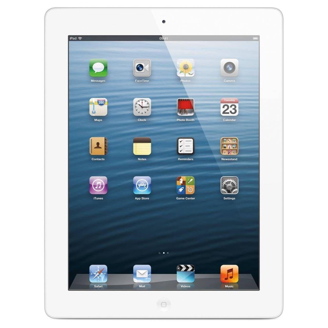 Apple iPad 2 64GB, Wi-Fi + 3G AT&T (Unlocked), 9.7in - WHITE - Grade A (R)
