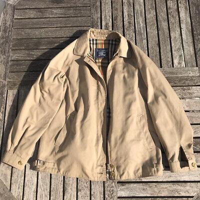 Vintage genuine Burberry Harrington Jacket Men Unisex