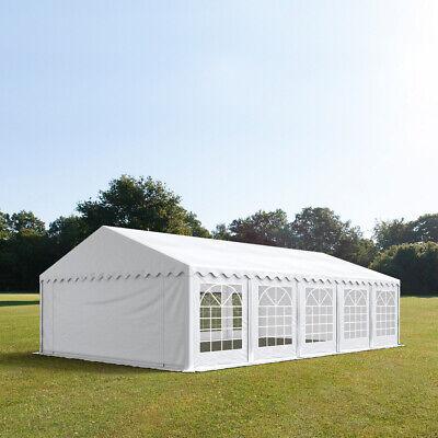 Feuersicheres Partyzelt 5x10m Festzelt Zelt Pavillon wasserdicht PVC weiß NEU online kaufen