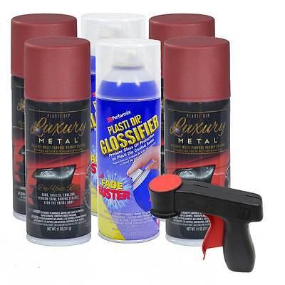 Plasti Dip Luxury Metal Gloss Rim Kit Volcano Red