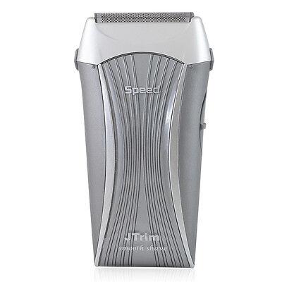 JTrim Haste 2 Travel Electric Shaver For Men Flex 2 Blades Foil Electric Razor W